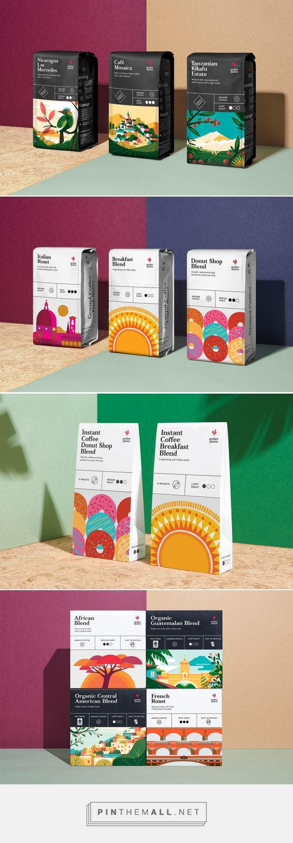 Archer Farms Coffee on Behance - created via https://pinthemall.net