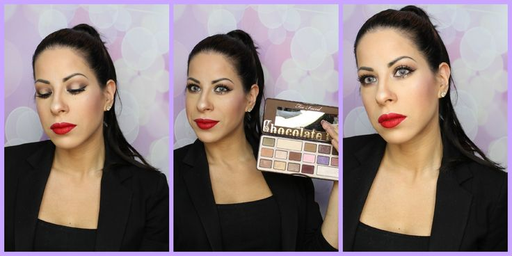 #too #faced #chocolate #bar #tutorial #one #palette #tutorial #spotlight #smokey #eye @toofacedcosmetics