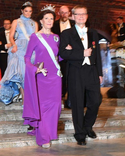 Swedish Royals attended 2017 Nobel Prize Banquet