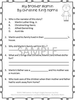 17 Best images about 4th Grade ELA on Pinterest | Who was martin ...