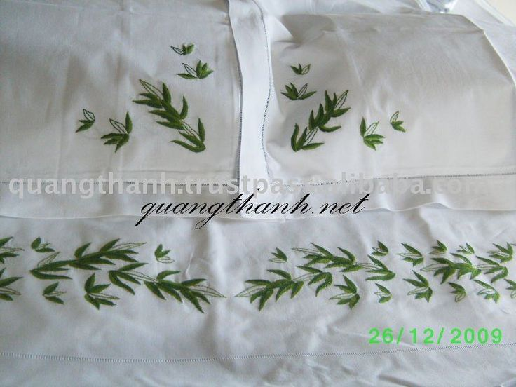 Embroidery Sheets Ibovnathandedecker