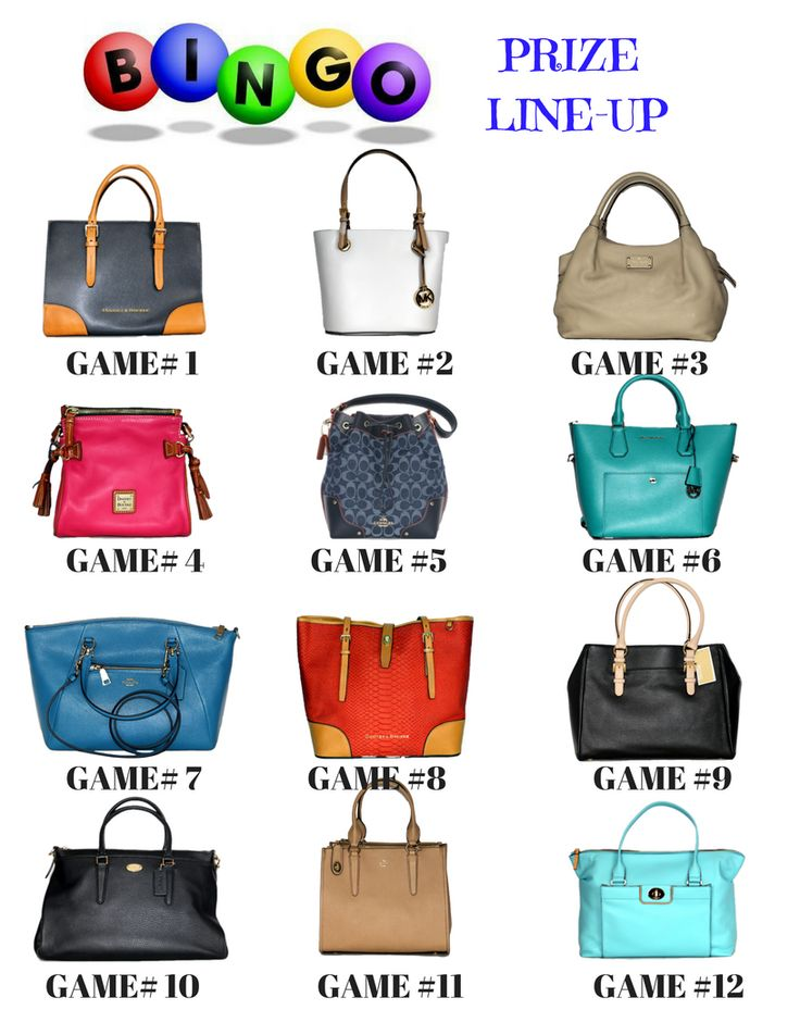16 best Designer Bag BINGO images on Pinterest | Bingo ...