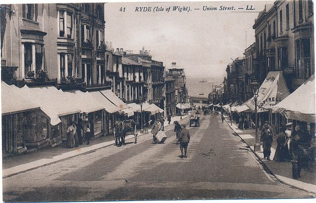 old photographs of Isle of wight - Google Search Ryde Union Street