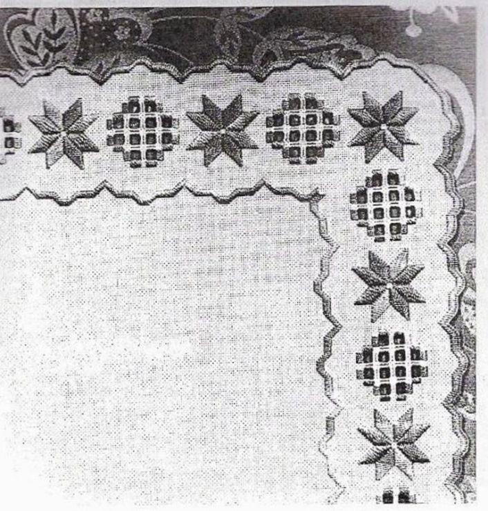 #91 - Хардангер -скатерти,