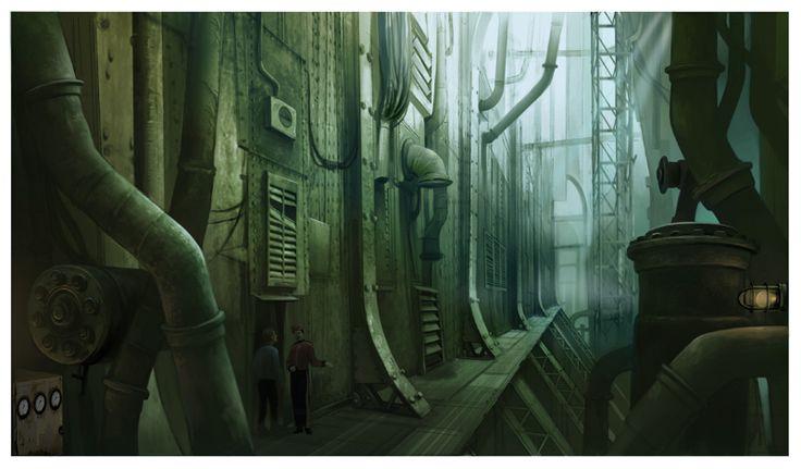 바이오쇼크 영화, 컨셉아트 : 네이버 블로그