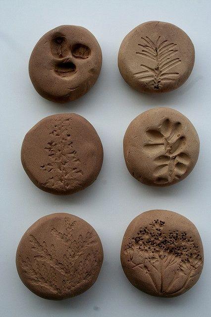 texture stones - sculpey stones