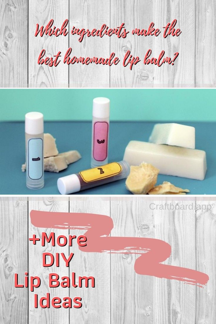 46 Cute & Easy DIY Lip Balm Ideas in Many Colors and