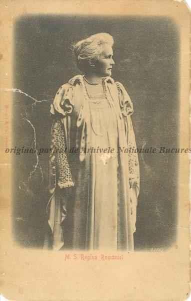 BU-F-01073-5-00027 Regina Elisabeta a României (Elisabeth Pauline Ottilie Luise zu Wied, 1843-1916), soția lui Carol I Hohenzollern-Sigmaringen, patroană a artelor, fondatoare a unor instituții caritabile, poetă, eseistă și scriitoare, cunoscută sub pseudonimul Carmen Sylva), s. d. (sine dato) (n