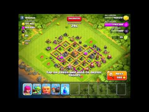 CLASH OF CLANS – HOW TO FIND THE RIGHT BASE TO ATTACK