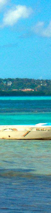 Paisajes de la Isla de San Andres y Providencia