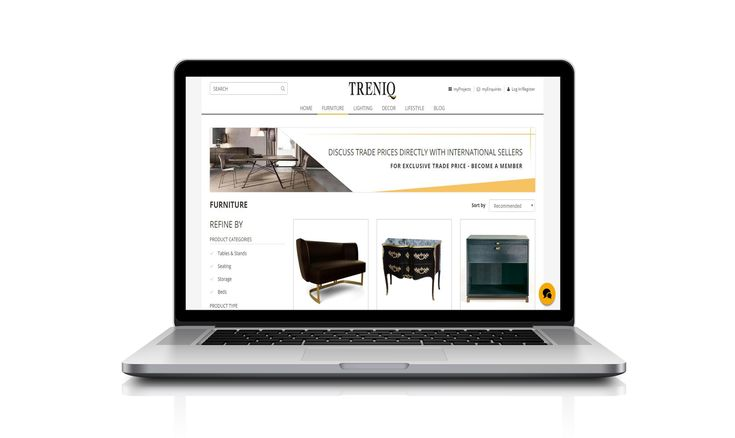 This is a great interior design app to find the most exclusive and unique pieces from brands all around the world