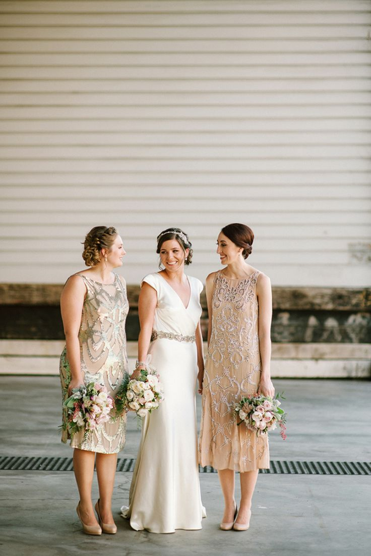 Beautiful Bridesmaids Dresses For Autumn | Photography Tealily Photography: