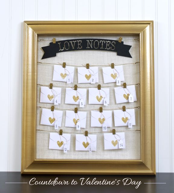 How-to: Advent Calendar : Valentine's Edition