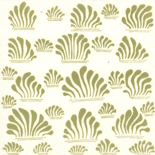 Grass I tile design by William De Morgan