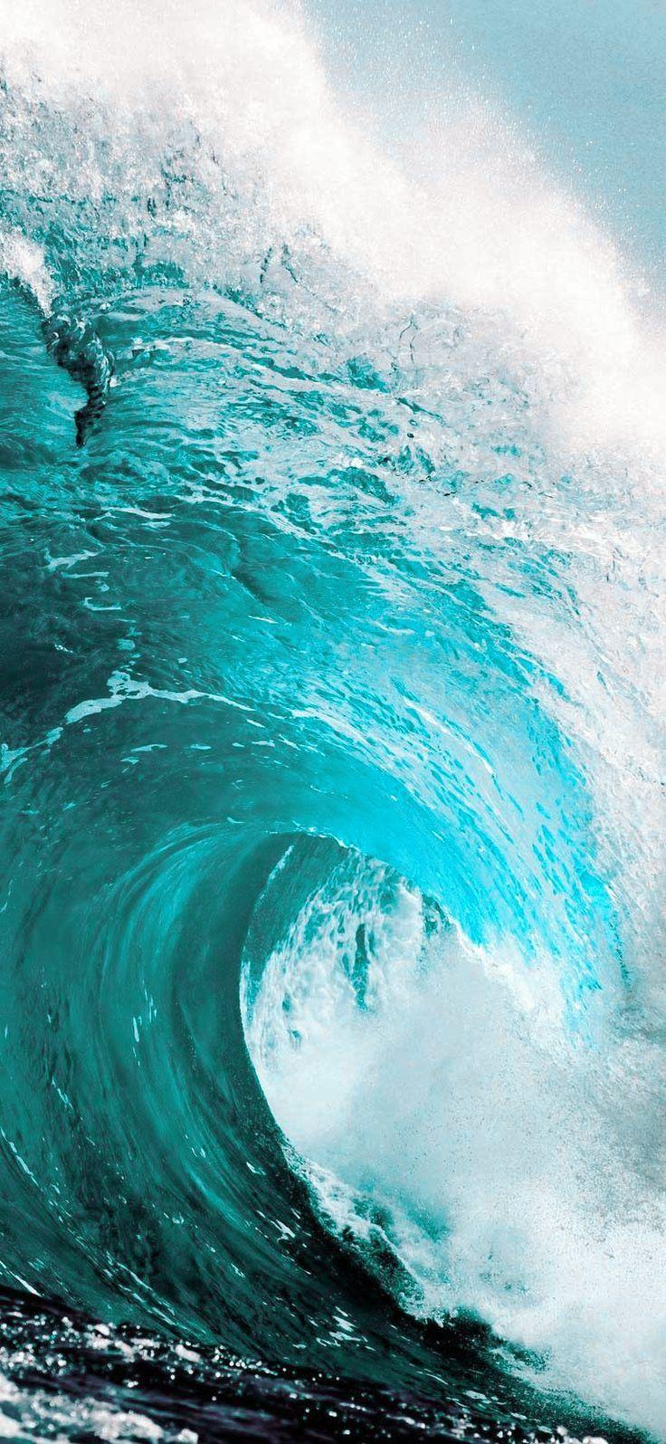 Beach Wave Lockscreen In 2021 Ocean Backgrounds Phone Backgrounds Phone Art Beach mobile wallpaper hd sea images