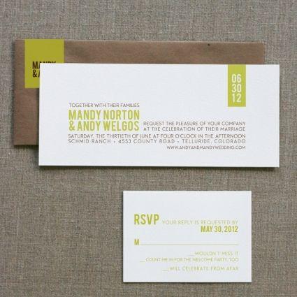 Modern Rustic Invitation Sample