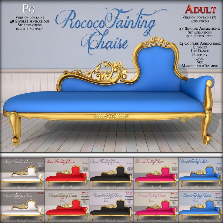 https://flic.kr/p/FTxfsH   Rococo Fainting Chaise Lounge Collection