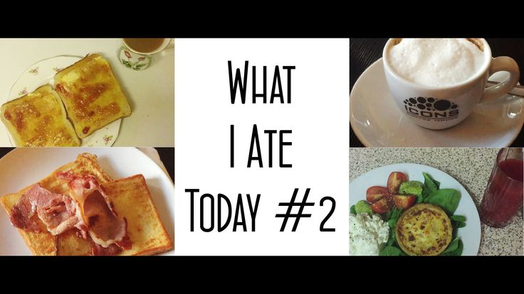 What I Ate Today #2 | MICHELA ismyname ♥