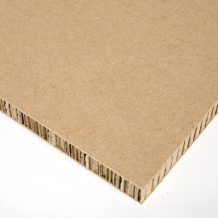 X-Board Nido de abeja o Xanita, es un material ligero fabricado con fibras de papel y cartón compactadas con colas orgánicas entre dos capas de un cartoncillo blanco o de color kraft imprimible.