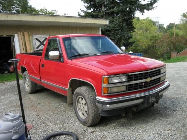 old red chevy   Thread: Savanna / Heavy Chevy / or Old Red :: 1993 Chevrolet K1500 4x4
