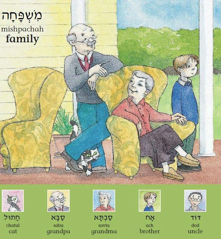 Темя дня: СЕМЬЯ  My first hebrew work book  ХатУль -кот сАба - дед сАвта - бабушка Ах - брат дод - дядя  #Иврит_с_Вероникой_Мендель  #Иврит  #Успешный_иврит  #Семья_на_иврите