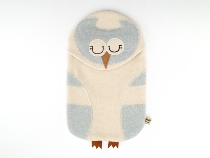 {Owl Hot Water Bottle cover} eep! so cute!Owls Dxxxxx, Vintage Blue, Bottle Covers, Owls Owls, Fun Things, Owls Hotties, Blue Owls, Hotties Covers, Crafts