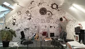 Image result for graphic mural design