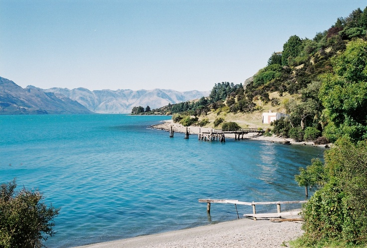 Kinloch. 45kms from Queenstown at the tip of Lake Wakitipu. A hidden treasure