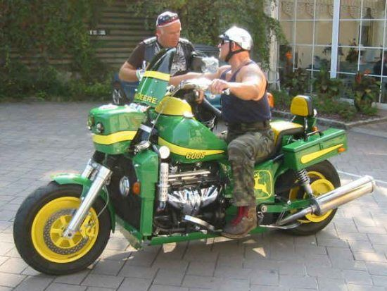 Boss Hog Frames : D  funny bike thread pix john deere boss hoss