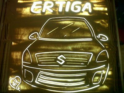 Sand Beauty: Lauching Suzuki ERTIGA Matic