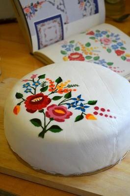 Hungarian cake - magyar torta