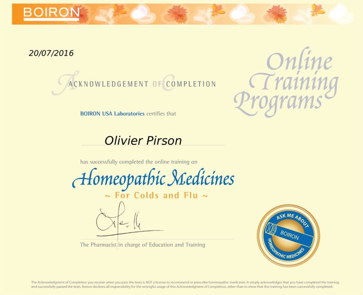 #Boiron‬ Certified #‪Homeopathy‬ Specialist — #Homeopathic Medicines: For Colds and Flu — #homéopathie