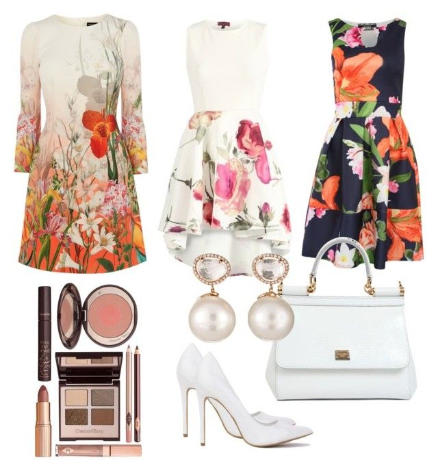 """""""High Tea with the Girls#ContestOnTheGo #ContestEntry"""" by lynetteamaro on Polyvore featuring Pilot, Dolce&Gabbana, Samira 13, Charlotte Tilbury, contestentry and ContestOnTheGo"""