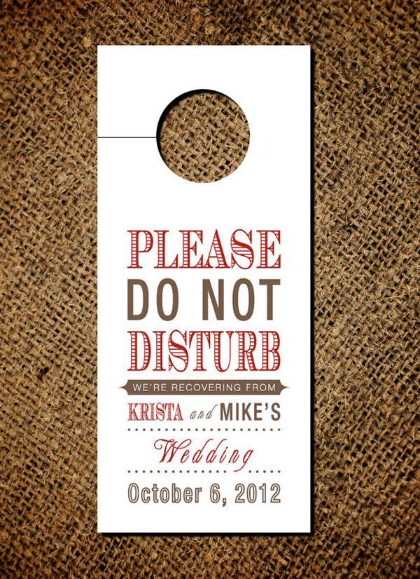 25 Best Ideas About Wedding Door Hangers On Pinterest