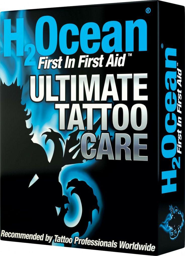 H2Ocean Ultimate Tattoo Care Kit - SkinCandy Tattoo Supply & Inks
