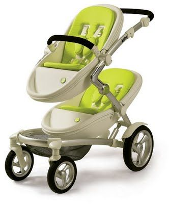 Kobi – the amazing twin pram....I wish. Looks expensive though