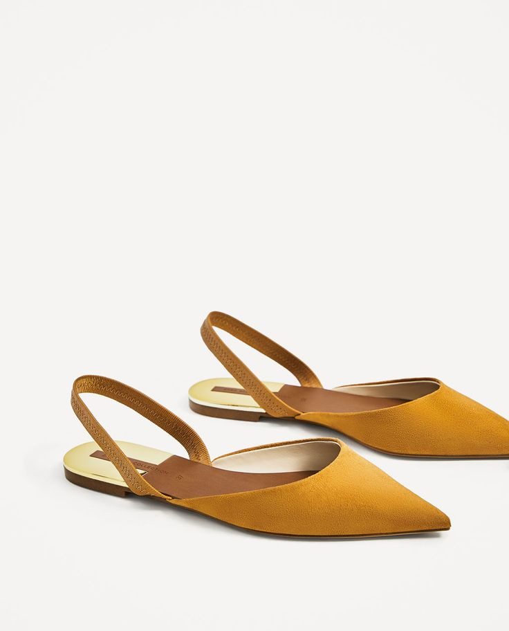 FLAT SLINGBACK SHOES-View all-SHOES-WOMAN | ZARA United States