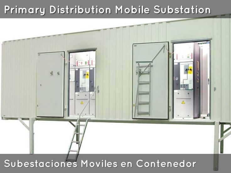 Subestacion Movil de Distribucion. Mobile Distribution Substation. Centro de Distribucion de Potencia Movil Venezuela.