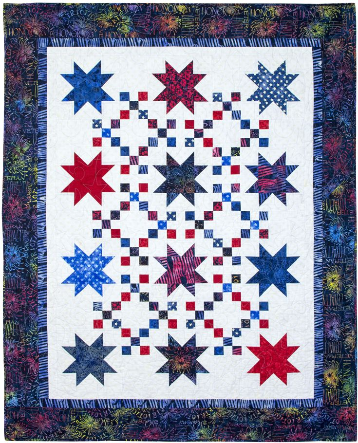 22 best Patchwork Star Patterns images on Pinterest | Quilt block ... : traditional quilts for sale - Adamdwight.com