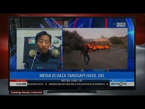 Media Gaza Apresiasi Langkah P. JOKOWI, Indonesia di KTT OKI - Palestina