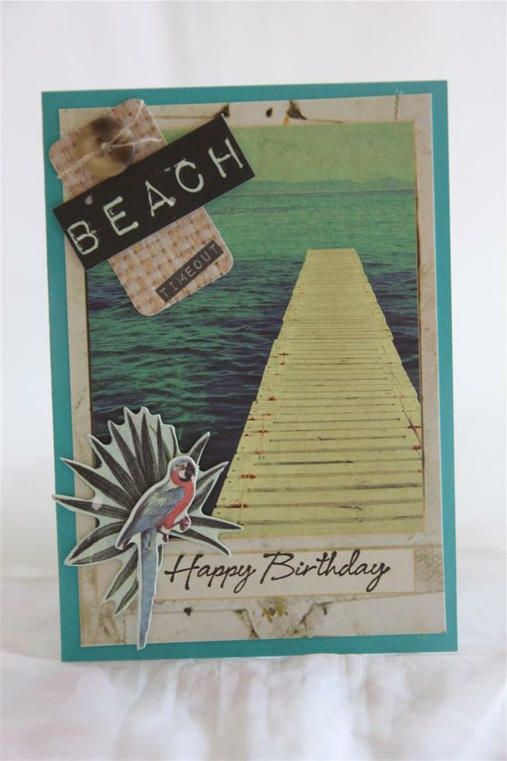 kaisercraft paradiso collection - gorgeous beach themed papers!