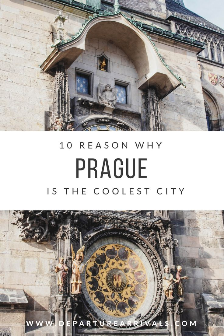10 Reason Why Prague Is the Coolest City to Visit - Prague has a beautiful architecture, great number of cultura events, cool parks and amazing beer.