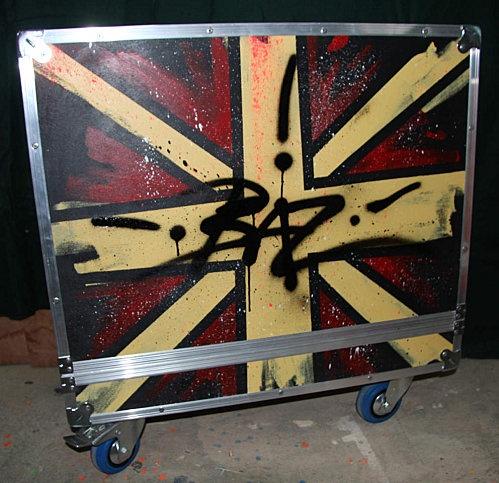 Flight cases customisés pour transport d'ampli et materiel de son d'un festival. 100% réalisé à l'atelier de MIcowËL