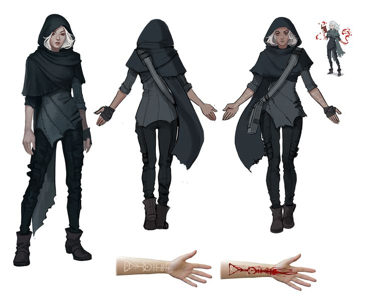 Saving this for a character fashion design... Good base for Layla. Bloodwitch Ione concepts by witchingbones.deviantart.com on @deviantART