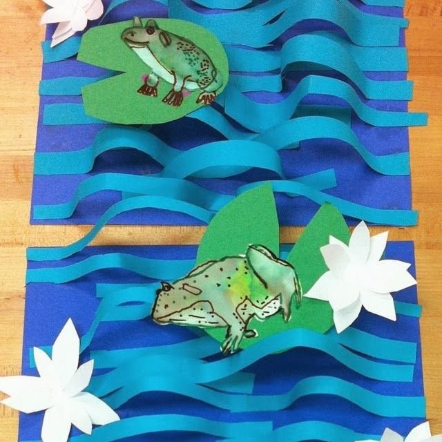 Art with Mr. Giannetto: 2nd Grade: Frogs