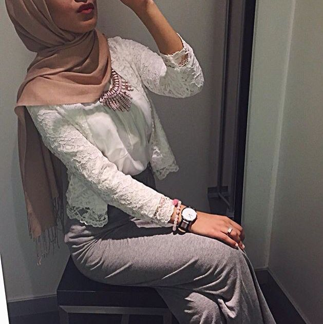 Modest fashion Hijabi style