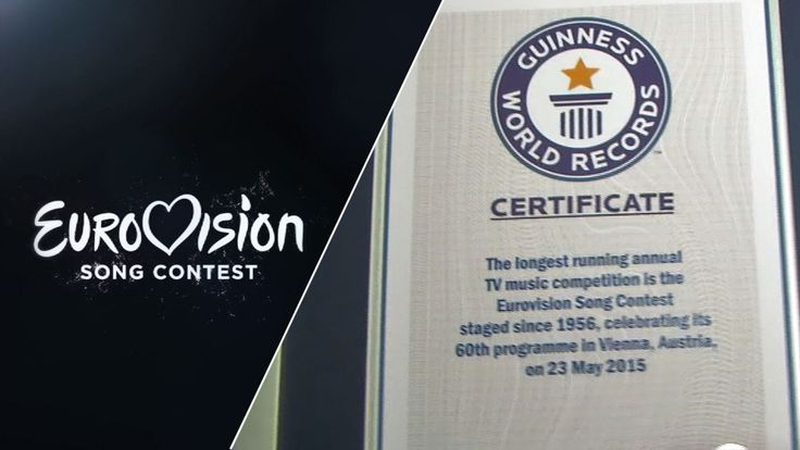 Eurovision Song Contest awarded Guinness world record