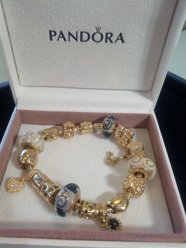 14k gold bracelet pandora bracelets created by charm. Black Bedroom Furniture Sets. Home Design Ideas