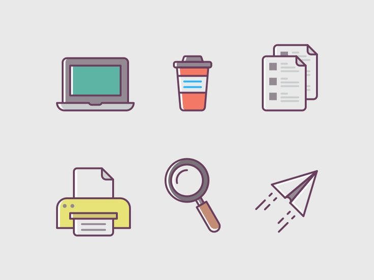 Office Stuff Icons #office #stuff #icons #device #svg #png