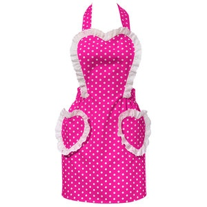 Sweetheart Pink Apron now featured on Fab.